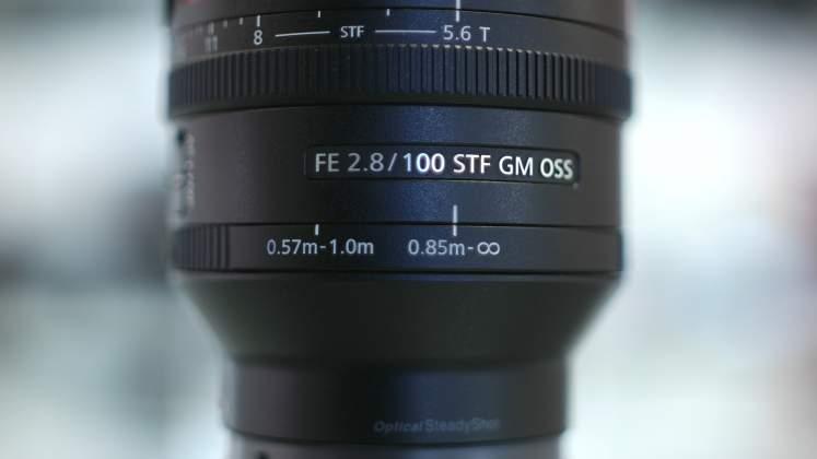 Dettaglio Ghiera Limitatore Focus Sony 100mm f/2.8 STF G Master