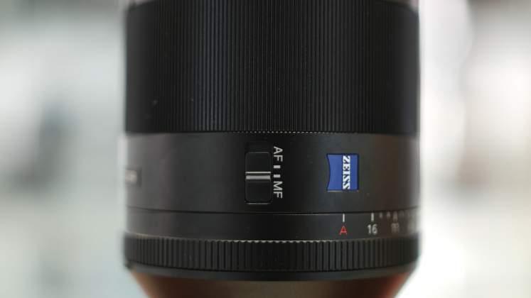 Dettaglio Switch focus Sony FE 50mm f1.4 G Master