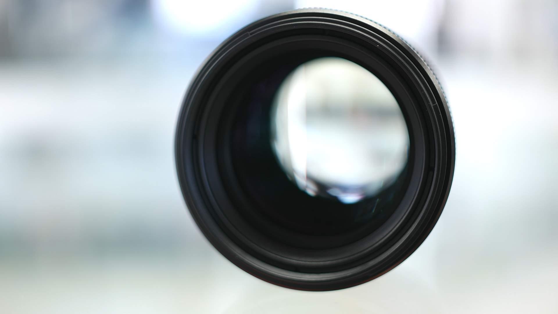 Lente frontale Sony 85mm f1.4 GM