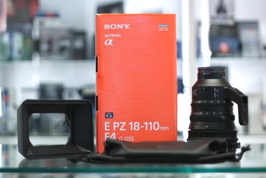 Sony E 18-110mm f/4 G Master - Unboxing e prime Impressioni