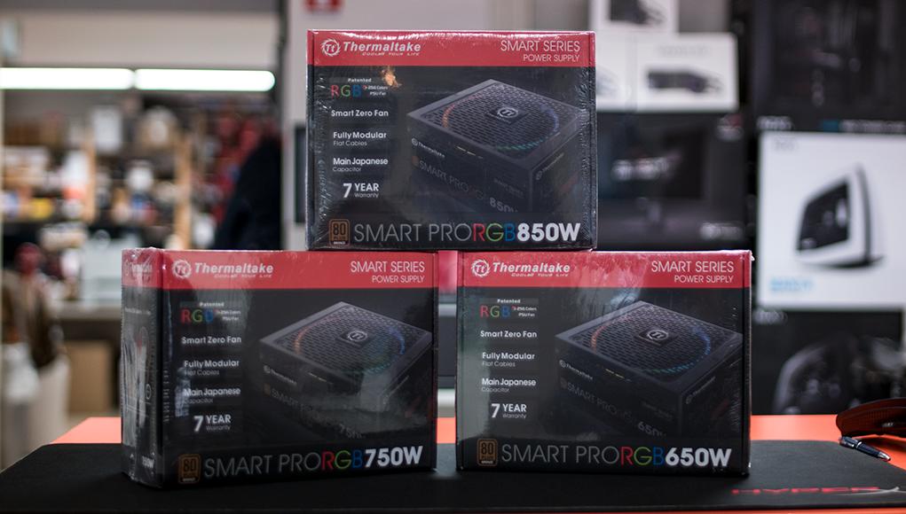 Thermaltake Smart Pro RGB - Nuovi Alimentatori Modulari