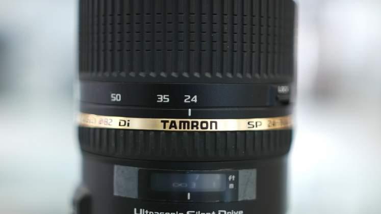 Dettaglio Tamron 27-70mm f2.8