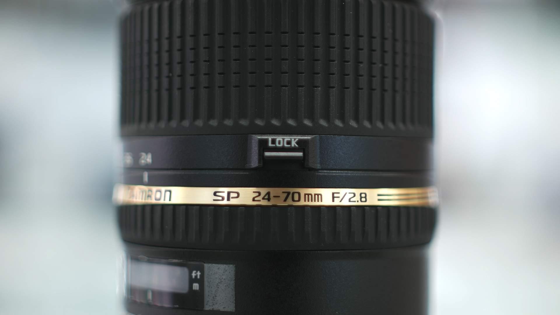 Dettaglio Lock Tamron 27-70mm f2.8