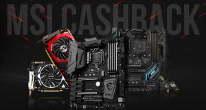 MSI Spring Cash Back, Schede Madri e Schede Video Gaming