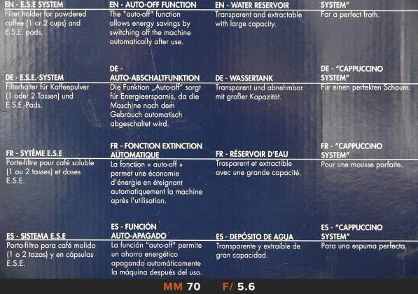 Nitidezza 70mm f5.6 Tamron 24-70mm f2.8