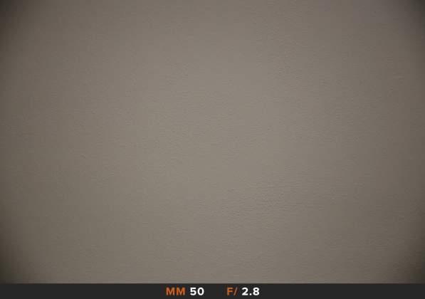 Vignettatura 50mm f2.8 Tamron 24-70mm f2.8