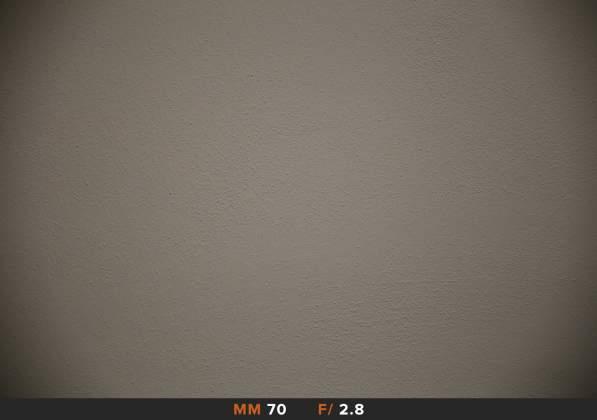 Vignettatura 70mm f2.8 Tamron 24-70mm f2.8