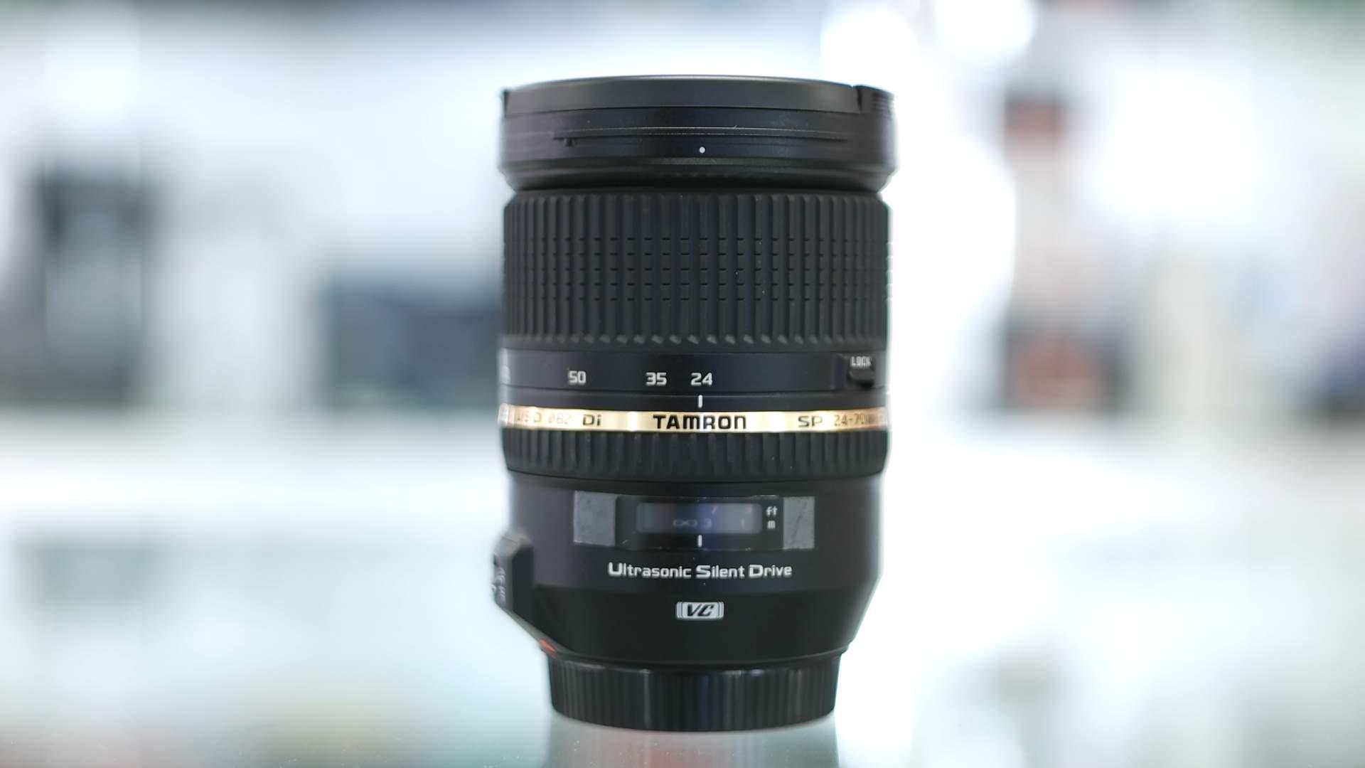 Vista generale Tamron 27-70mm f2.8