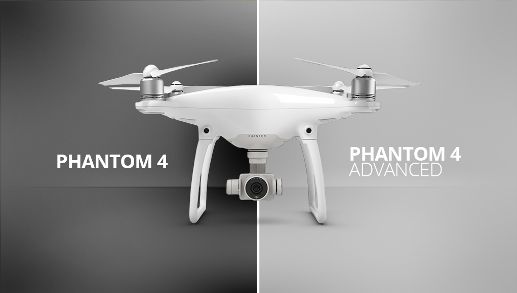 DJI Phantom 4 Advanced vs Phantom 4, quali sono le differenze