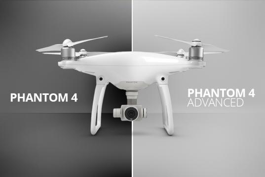 DJI Phantom 4 Advanced vs Phantom 4, quali sono le differenze