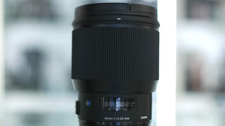 Ghiera messa a fuoco Sigma 85mm f/1.4