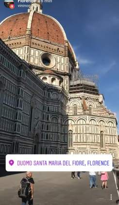 Località Firenze Storie Instagram
