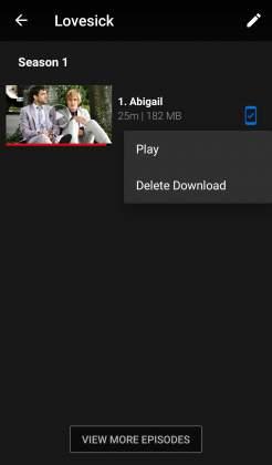 Pagina Show download Netflix tutorial come scaricare film