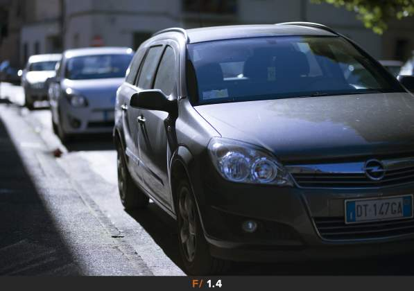 Test Aberrazioni f/1.4 Sigma 85mm f/1.4 Art