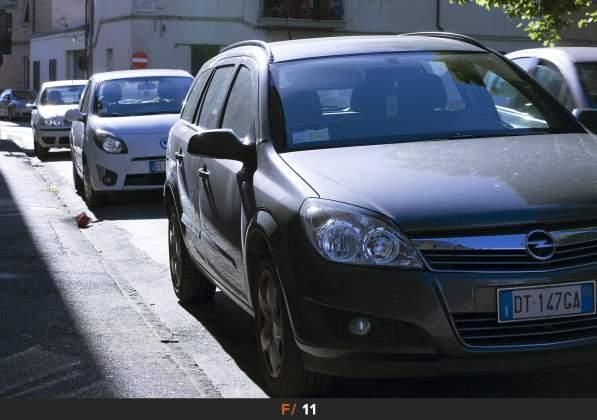 Test Aberrazioni f/11 Sigma 85mm f/1.4 Art