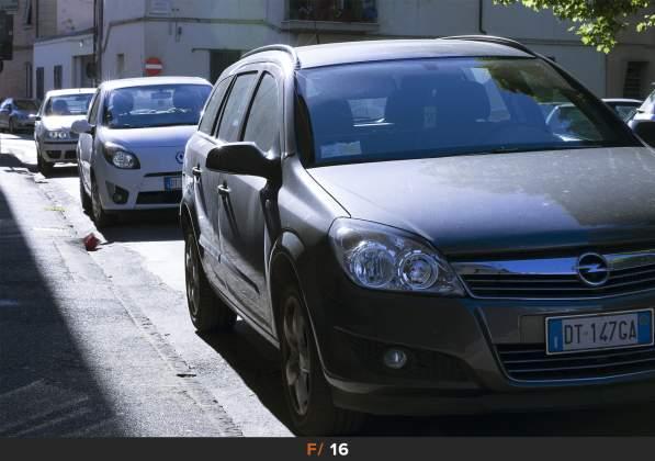 Test Aberrazioni f/16 Sigma 85mm f/1.4 Art