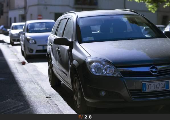 Test Aberrazioni f/2.8 Sigma 85mm f/1.4 Art