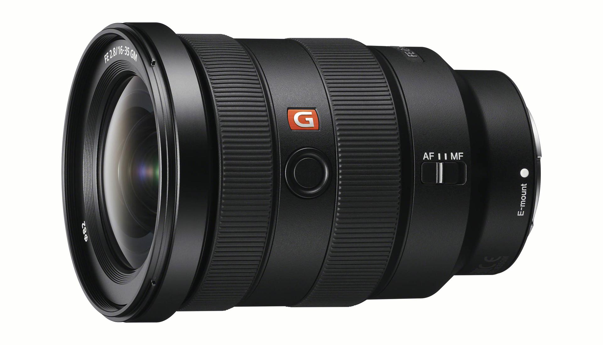 Vista generale Sony FE 16-35mm f2.8 G Master