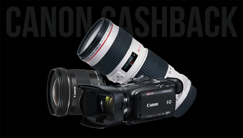 Canon Cashback, fino a 250 Euro di Rimborsi su Tanti Prodotti