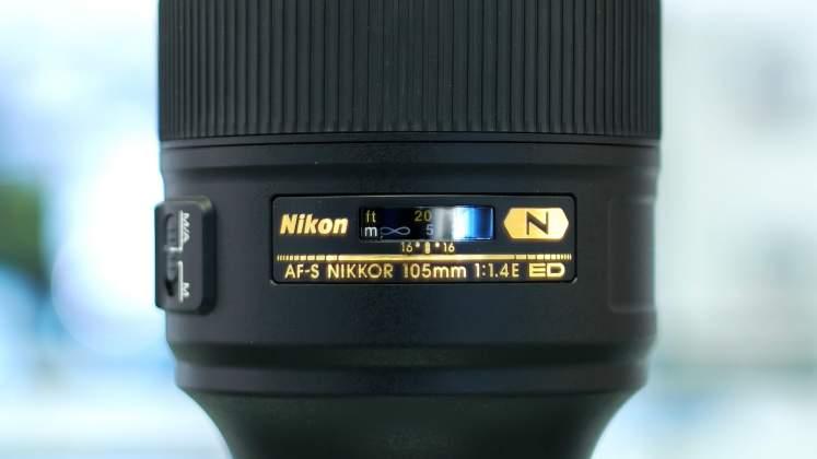 Dettaglio messa a fuoco Nikon 105mm f1.4