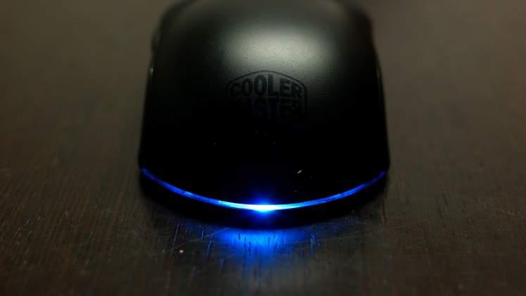 Dettaglio illluminazione Mouse Cooler Master Masterkeys Lite L