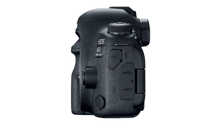 Parte laterale sinistra Canon Eos 6D Mark II - Annuncio