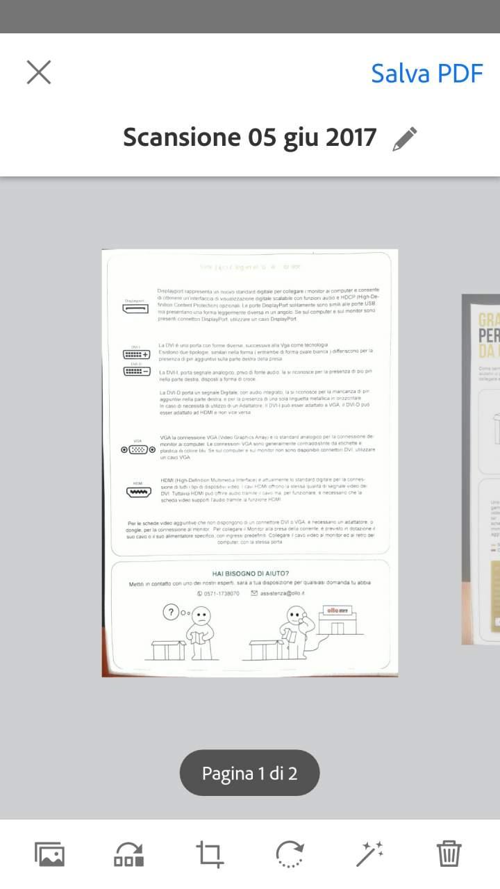 Screenshot 2 Come Scannerizzare Documenti Smartphone