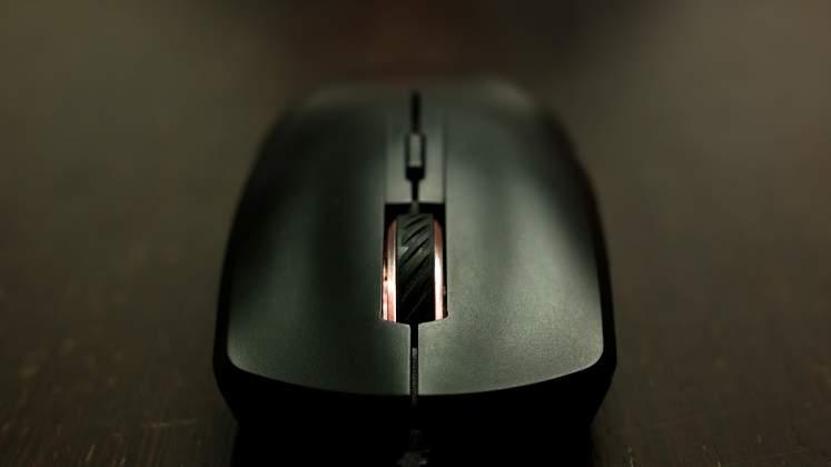 Vista frontale Mouse Cooler Master Masterkeys Lite L