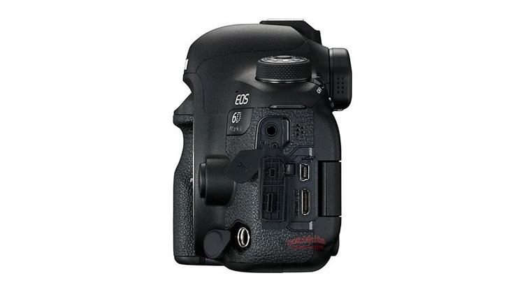 Vista laterale sinistra Canon Eos 6D Mark II