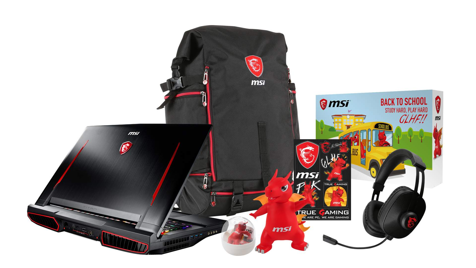 Accessori pacchetto omaggi notebook MSI Summer fun time