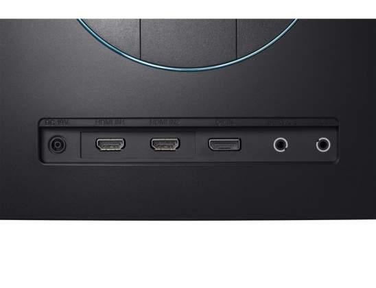 Dettaglio-interfaccia-Monitor-Curvo-Pro-Gaming-Samsung