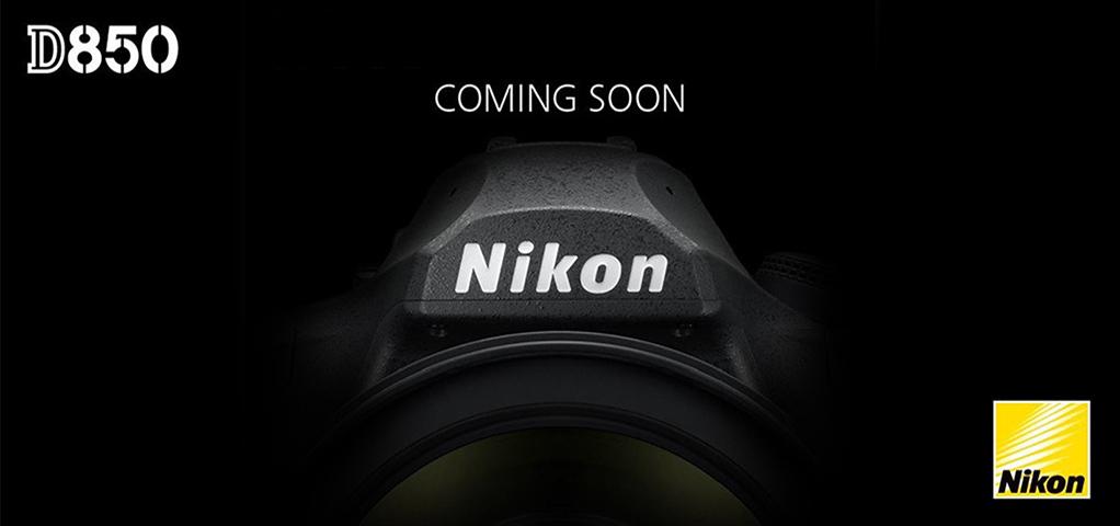 Immagine Teaser Ufficiale Nikon D850