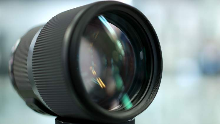 Parte Frontale Sigma 135mm f1.8 Art