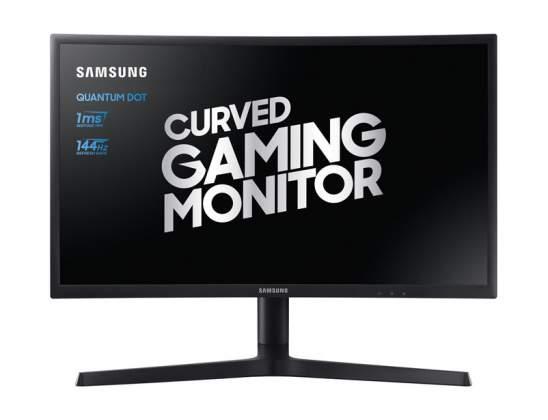 Vista-frontale-Monitor-Curvo-Pro-Gaming-Samsung