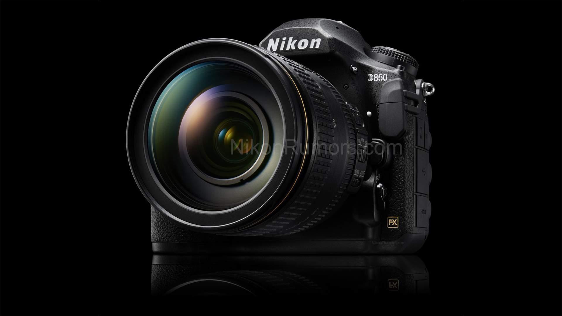 Vista frontale rumors Nikon D850