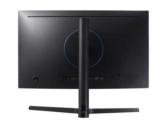 Vista-posteriore-Monitor-Curvo-Pro-Gaming-Samsung