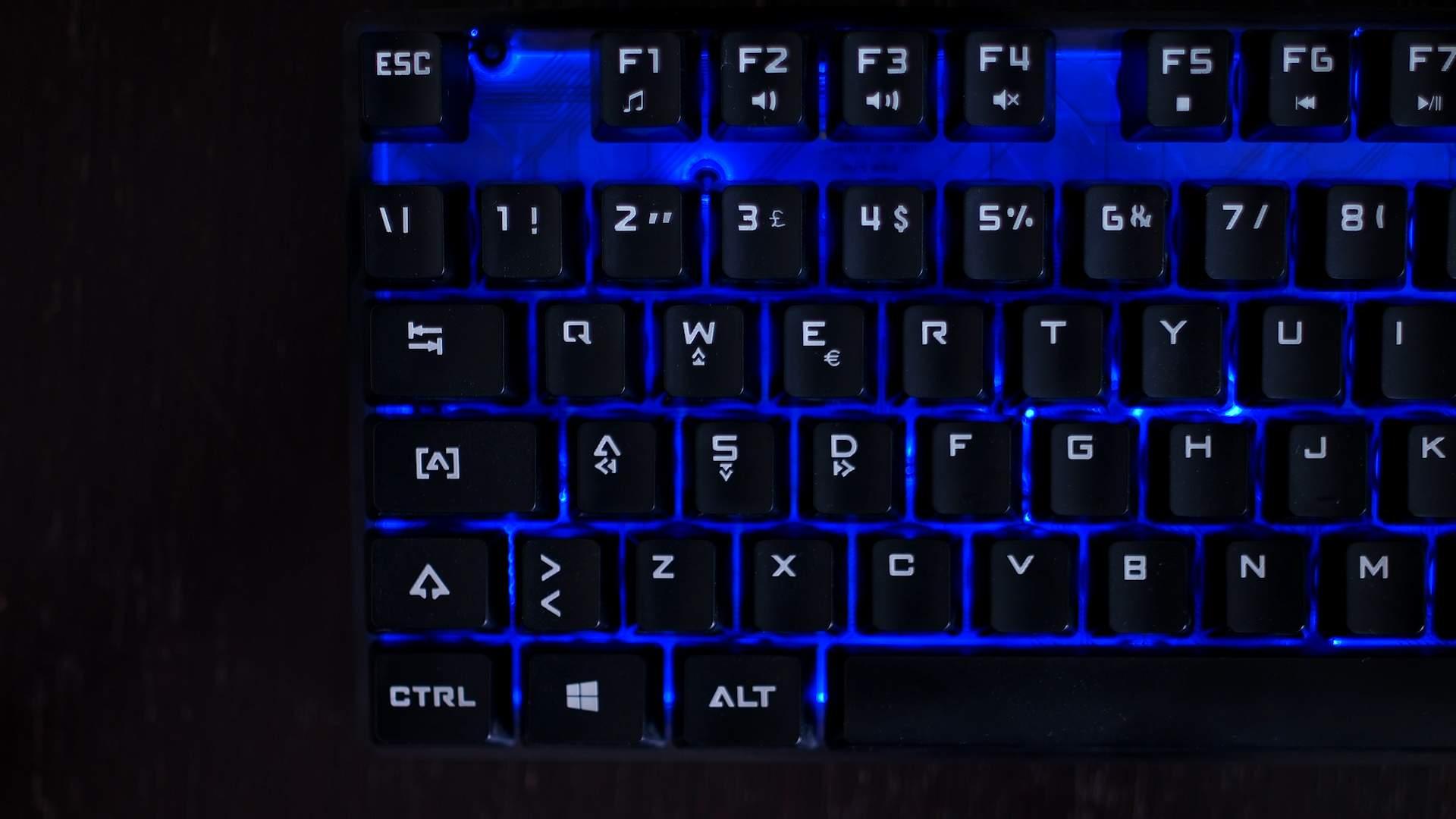 WASD Frecce iTek Taurus T15M1 Gaming Keyboard
