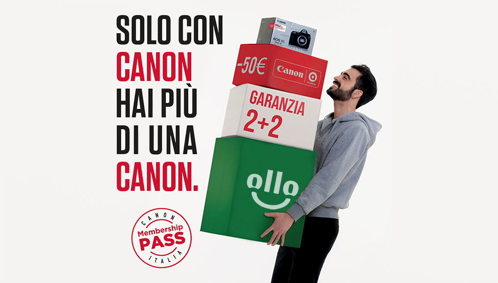 Canon Offre un'Estenzione di Garanzia di Ben 2 Anni!