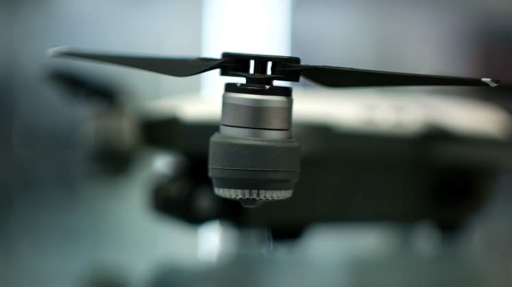 Dettaglio rotore Drone DJI Spark