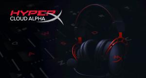 Le nuove cuffie gaming HyperX Cloud Alpha promettono comfort e qualità