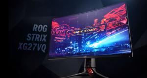 Nuovo monitor gaming curvo ASUS ROG Strix, fludità a poco prezzo