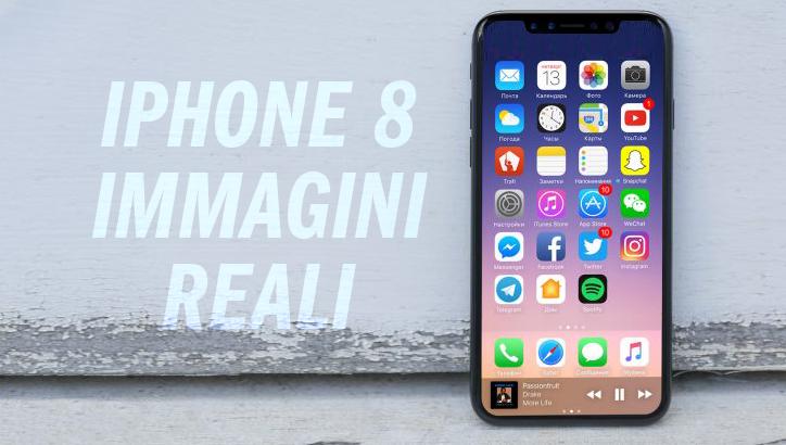 Online le Prime (Presunte) Immagini Reali dell'iPhone 8