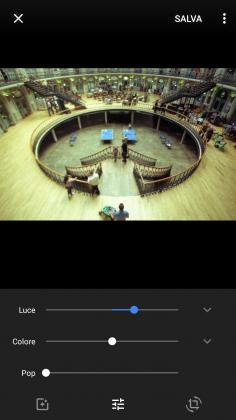 Strumento esposizione Google tutorial modificare foto smartphone