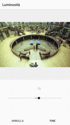 Strumento esposizione Instagram tutorial modificare foto smartphone