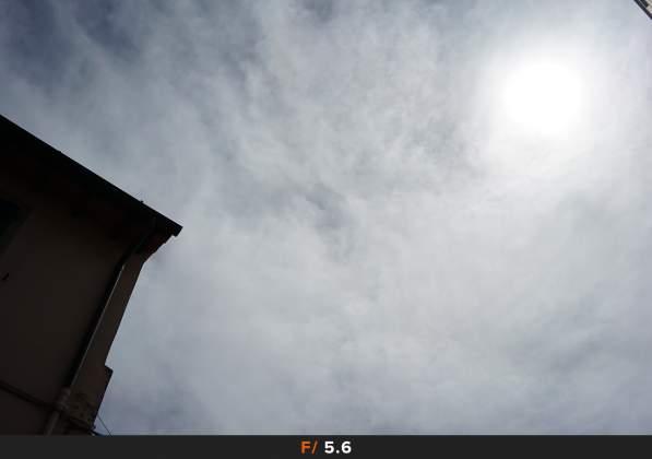Test Flares Sole f5.6 Samyang AF 35mm f2.8 FE