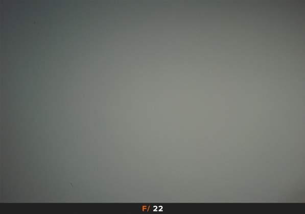 Test Vignettatura f22 Samyang AF 35mm f2.8 FE