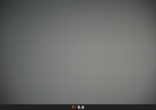 Test Vignettatura f5.6 Samyang AF 35mm f2.8 FE