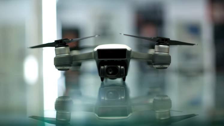 Vista Frontale Drone DJI Spark
