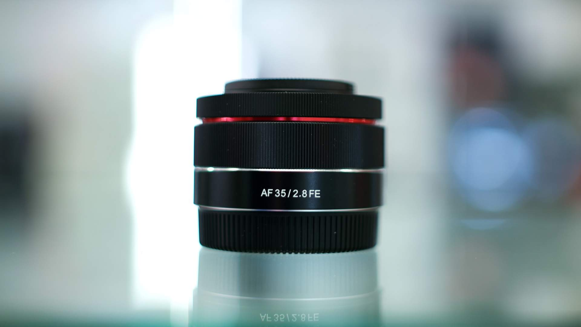 Vista generale Samyang af 35mm f2.8 FE