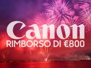 Canon rimborsa fino a 800€ sull'acquisto di fotocamera e obiettivo